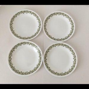Corelle Spring Blossom saucers set of 4